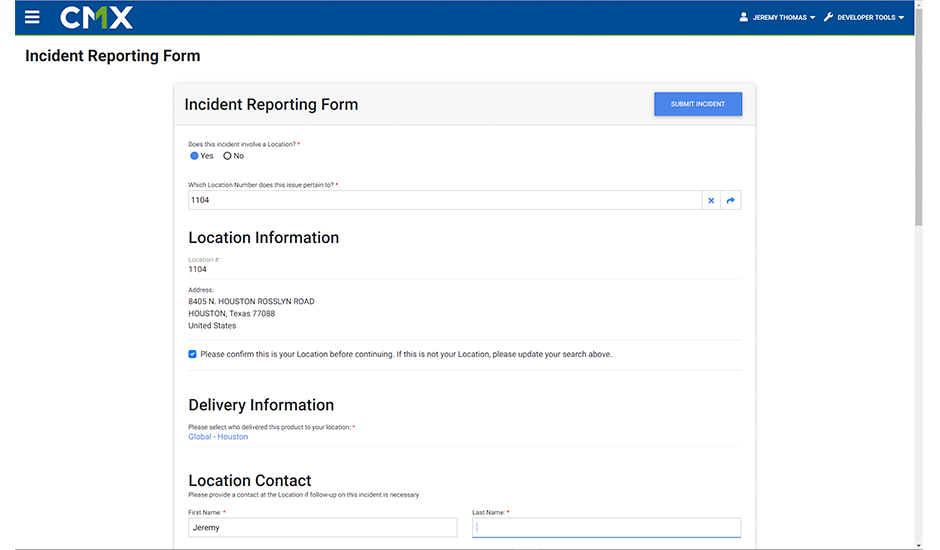 Report, track and trace product related quality incidents in your restaurant or store.