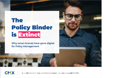 Policy Binder is Extinct eBook cover 2-1