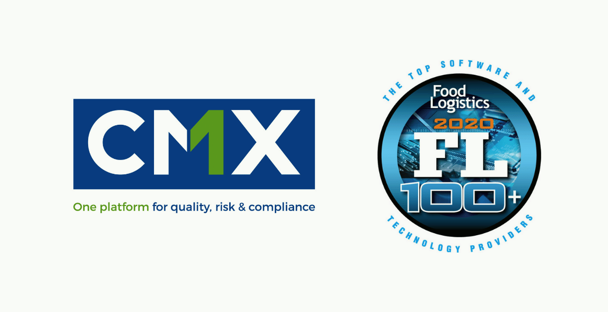 CMX Named to Food Logistics' 2020 FL100+ Top Software and Technology Providers